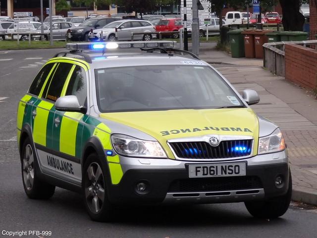 east midlands ambulance service skoda octavia scout rapid. Black Bedroom Furniture Sets. Home Design Ideas