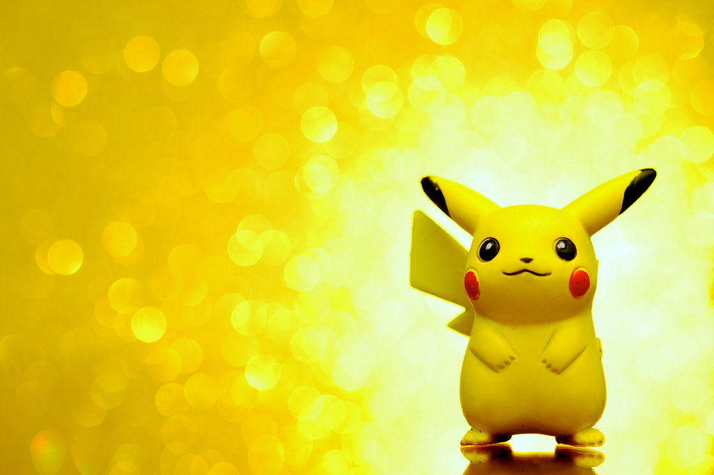 Bokeh Mon Pikachu From Pok 233 Mon Learn More About This I Flickr