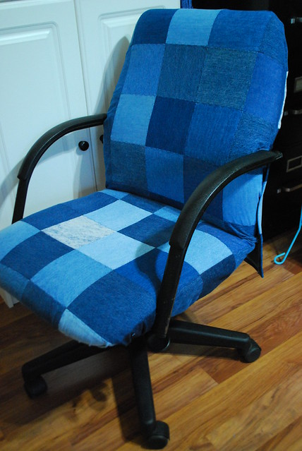 Denim Desk Chair Cover Flickr Photo Sharing