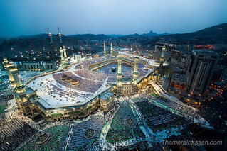 The Holy Grand Mosque in Makkah - Heart of Islam | by www.thameralhassan.com Thamer Al-Hassan