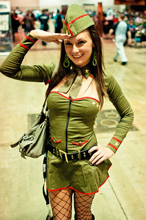 World War II Pin Up Girl Costume | by djensen47