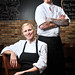 Executive Chefs Kristin Tyborski and Derik Moran