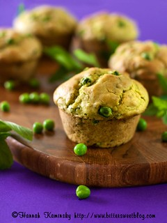 Minted Pea Muffins | by Bitter-Sweet-