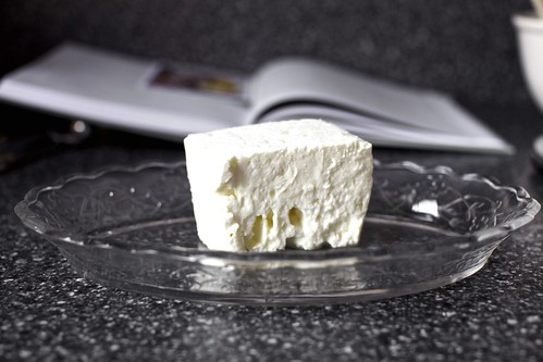 a big block of bulgarian feta | by smitten kitchen