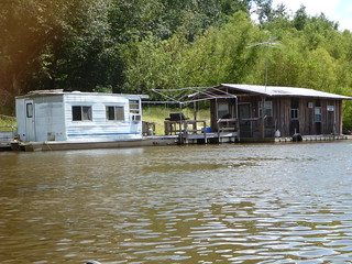 Houseboat on the Apalach | by wfsu.org