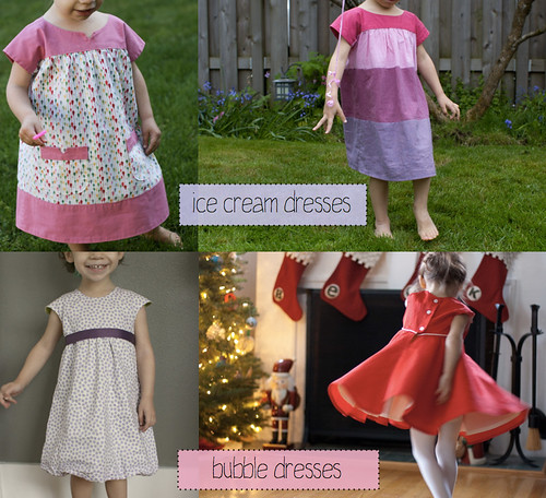 ice cream dresses and bubble dresses | by skirt_as_top