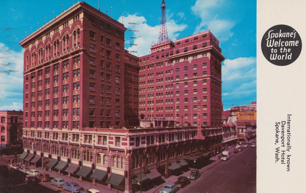 Davenport Hotel - Spokane, Washington