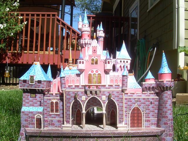 Castle Papercraft Wip 01