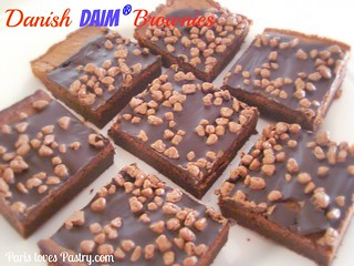 Danish Daim Brownies | by DolceDanielle