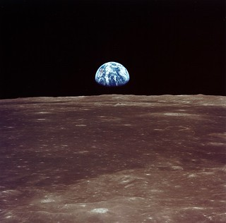 Archive: Apollo 11 Sees Earthrise (NASA, Marshall, 07/69) | by NASA's Marshall Space Flight Center