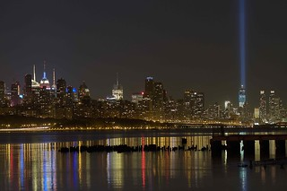 Tribute of Lights WTC Memorial | by Chip Renner
