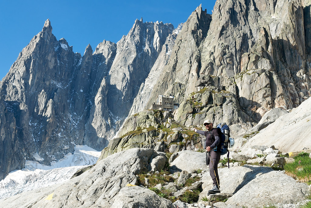Refuge d'Envers des Aiguilles | Michael bids farewell to ...