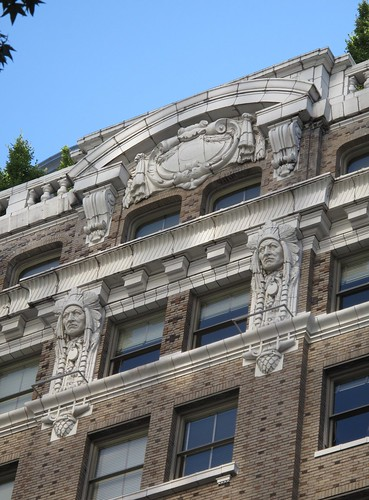 Seattle Building  Detail Indians | by hmdavid