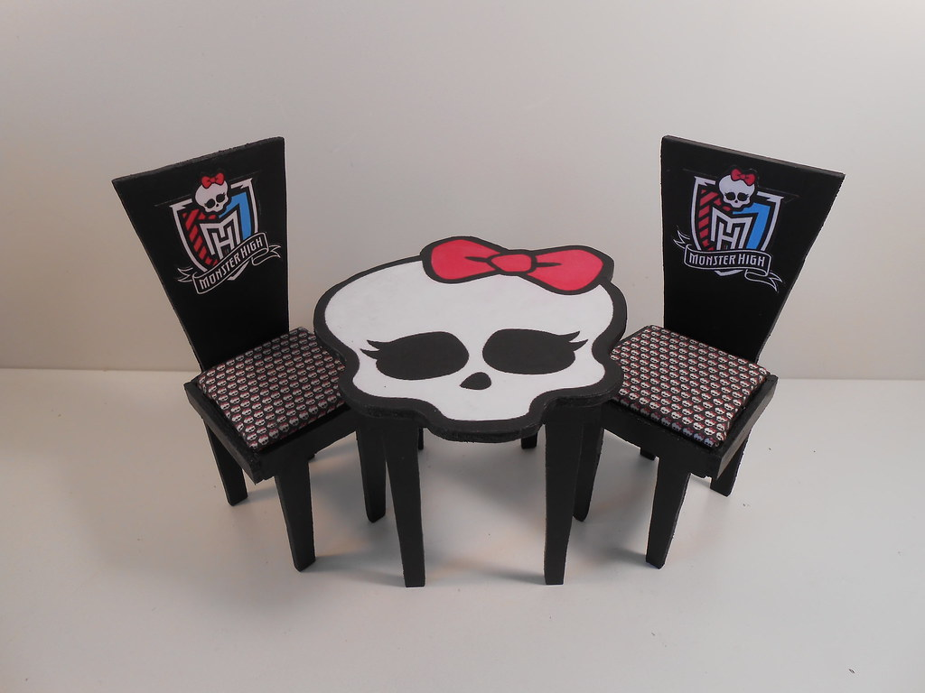 Monster High Furniture 1 6 Scale Playscale Basic Black Flickr
