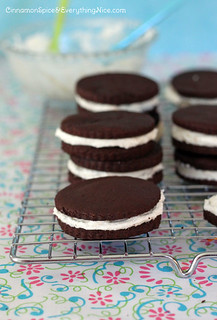Copycat Oreo Double Stuf Cookies | by CinnamonKitchn