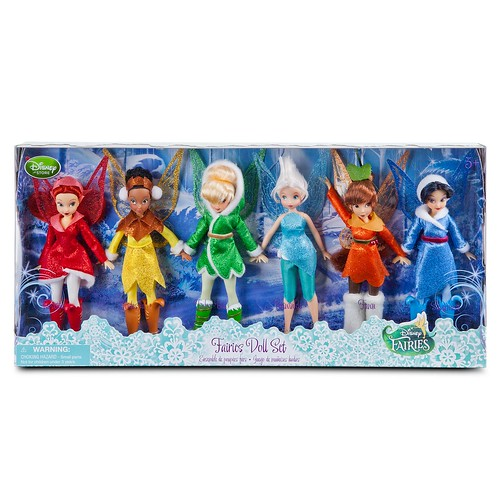 Disney Fairies Doll Set -- 6-Pc. - Disney Store US Product Image #5 - Boxed | by drj1828