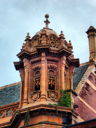 Hereford Town Hall, Detail | by photphobia