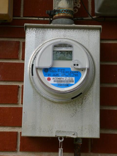 New Digital Electric Meter : New digital electric meter explore rusty clark back in