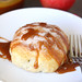 Baked Apple Dumplings with Caramel Sauce