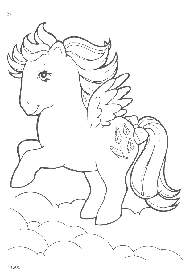 Vintage My Little Pony Coloring Pages : My little pony g coloring pages natasja doe flickr