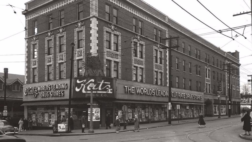 1950 s ca katz drugs wellston loop 6100 easton st louis for Craft stores st louis