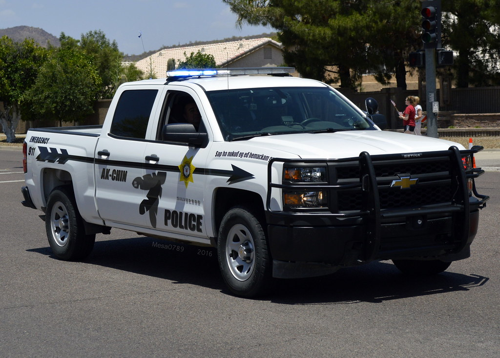 Ak-Chin Arizona Tribal Police - 2015 Chevy Silverado | Flickr