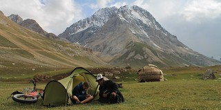 Camp in the Kok Suu Valley | by Pikes On Bikes