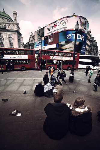 Fun in Piccadilly - London | by Luca Pisanu