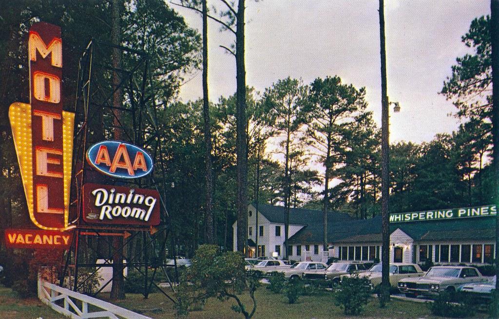 Whispering Pines Motel Accomac VA | Ocean Hiway, U.S. 13 ...