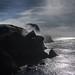 Cliffs & stratus. Fair Isle