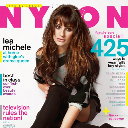 lea-michele-cover | by nylonmagazine