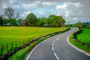 British Country Road