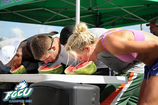Watermelon Eating Contest | by FGCU Campus Rec