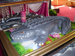 Crocodile wedding cake | by Edible elegance cakes Zimbabwe