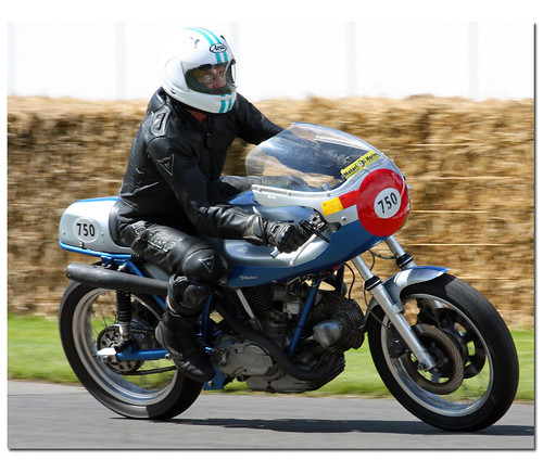 Paul Smart 1973 Ducati 750. Goodwood Festival of Speed 2012 | by Antsphoto