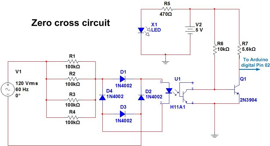 Triac - Circuitar - Modular electronics, Arduino projects