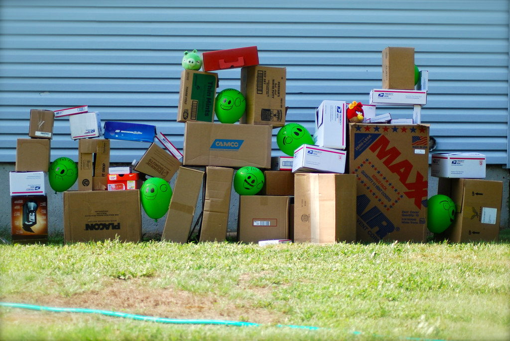 Life Size Angry Birds Game | Sammie-J | Flickr