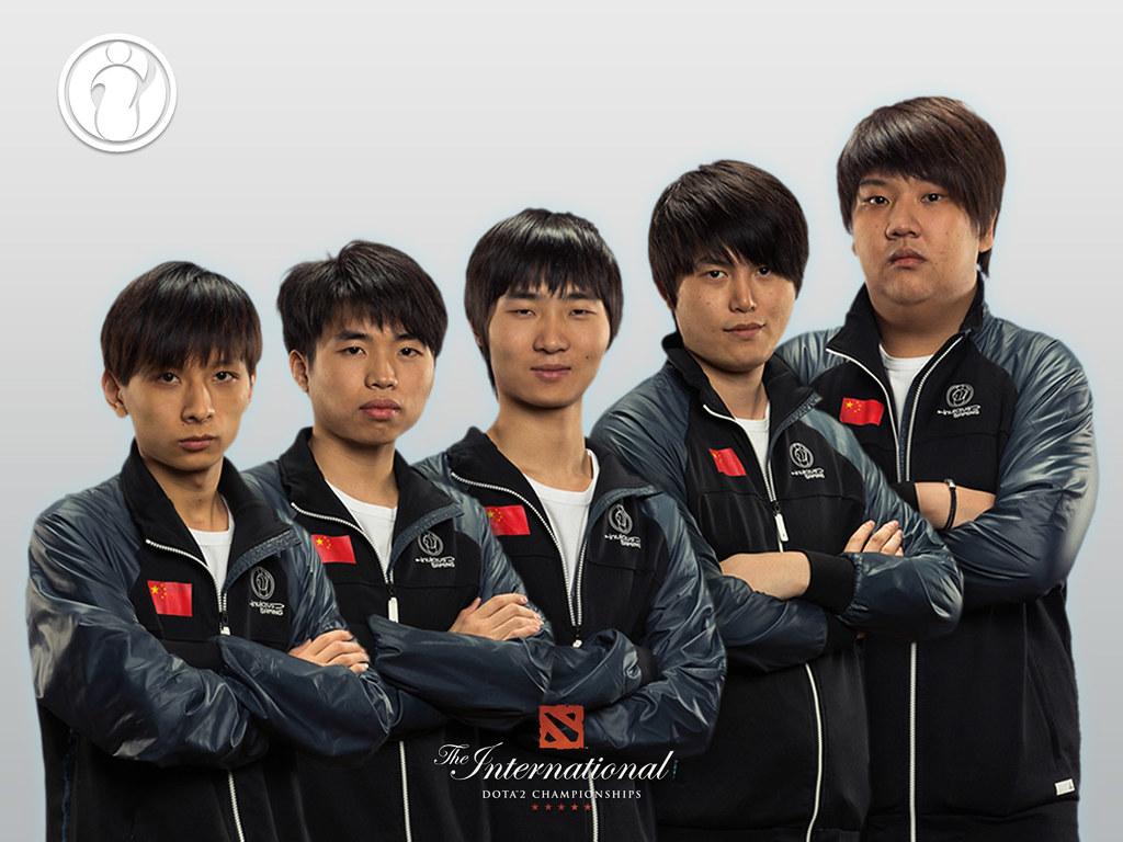 Invictus Gaming   Ferrari 430, Faith, Zhou, YYF and ChuaN   Dota 2