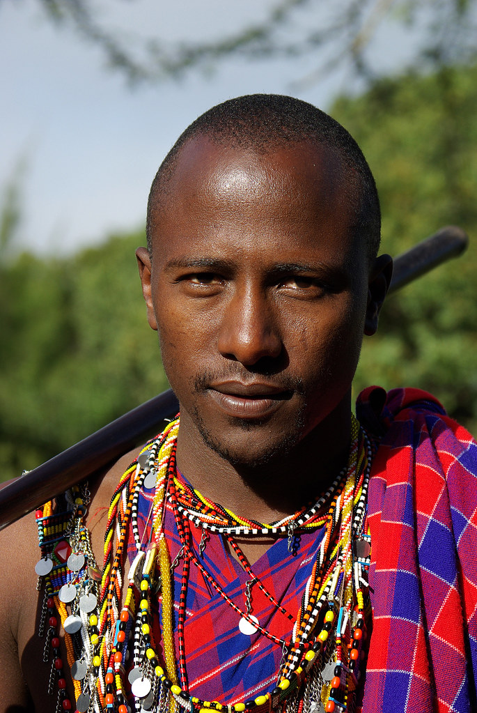 Kenya and white man blowjob outdoor - 3 part 5