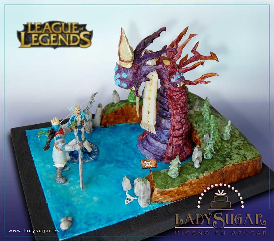 League Of Legends Cake Tarta Premiada En El Concurso