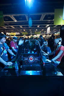 This Samsung Series 7 Gamer was on display at the Ubisoft booth | by Dolby Laboratories