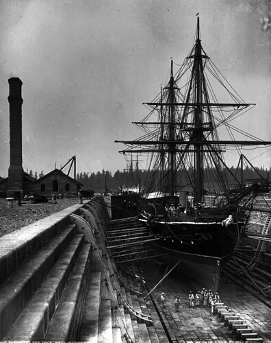 Esquimalt dry dock (retouched) | by Insomnious247