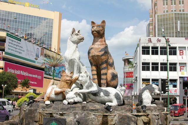 Kuching – cat city!