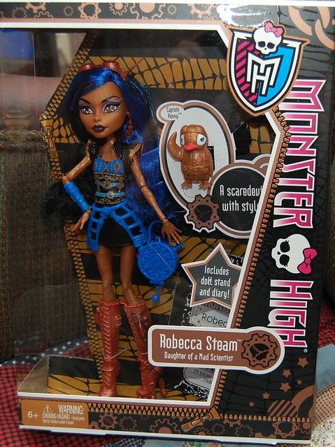 Monster high dolls robecca steam flickr photo sharing - Monster high robecca steam ...