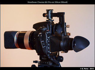 Hoodman Cinema Kit Pro on Nikon D800E - solution for MF lenses with front or rear focusing | by episa