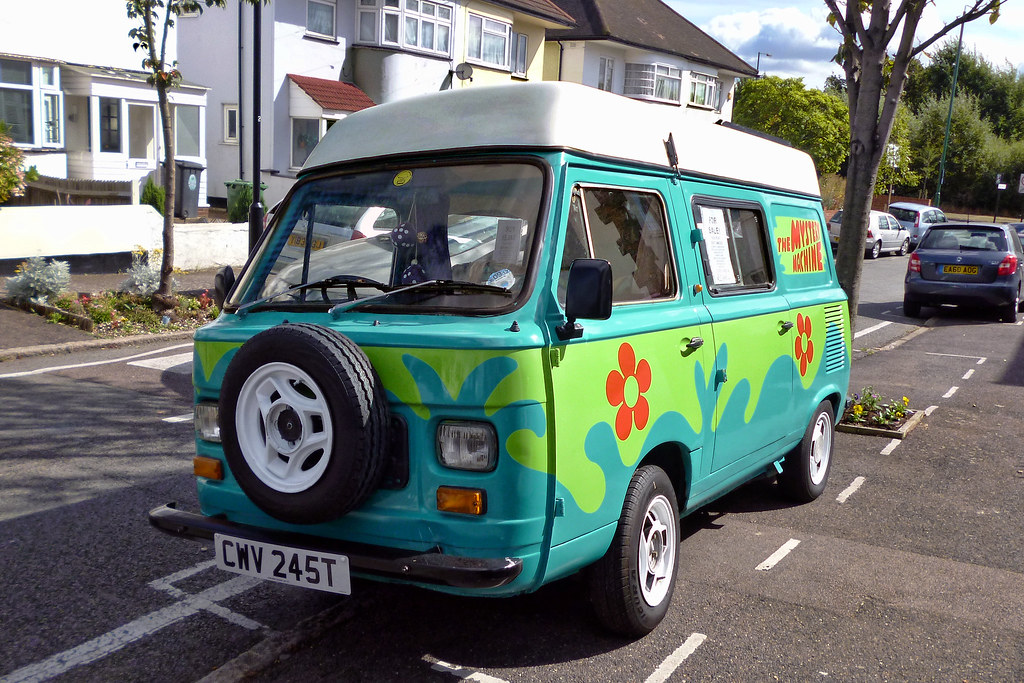 Side By Side For Sale >> 1979 Fiat 900T Amigo 'Mystery Machine' Campervan | Saw this … | Flickr