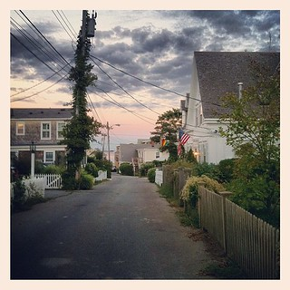 #cottagestreet#Provincetown#massachusetts #sunset | by larryn2009