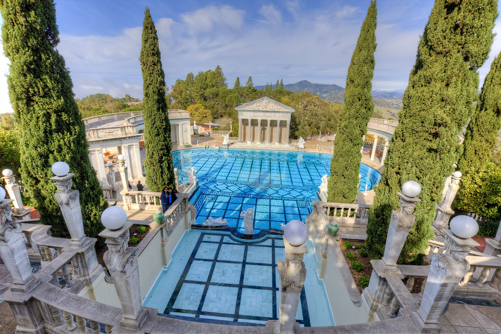 Hearst castle neptune pool party