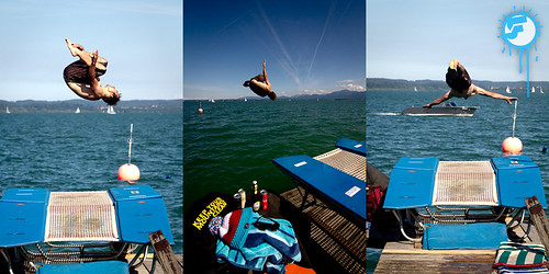 SnowFront's get-together in Summer 2012: BOUNCE'N DIVE | by Snow Front