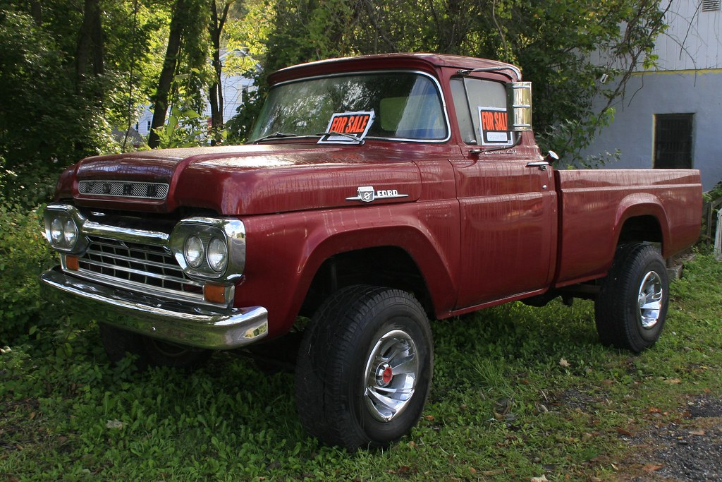1960 ford 4x4 pickup maybe 1959 ford pickup jon wason flickr. Black Bedroom Furniture Sets. Home Design Ideas